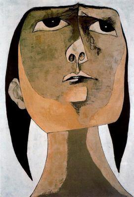 Guayasamín, Homenaje a Tania no. 2, 1969